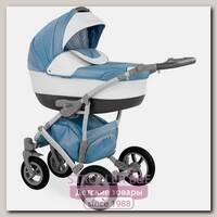 Детская коляска Caretto Caprise 2 в 1, ткань+эко-кожа