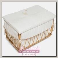 Плетеный ящик для игрушек Italbaby Angioletti