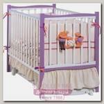 Детская кроватка Papaloni Fiore, продольный маятник