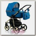 Детская коляска Adamex Reggio Special Edition 3 в 1, ткань+эко-кожа