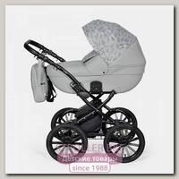 Детская коляска Indigo Mio 2 в 1 Plus 14, эко-кожа