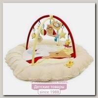 Детский коврик Felice F Сонный Мишка с игровыми дугами и игрушками, муз. мишка, 140 х 140 х 50 см