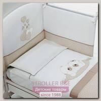 Комплект постели в кроватку Baby Expert Sogno, 4 предмета