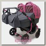 Детская коляска для двойни и погодок Polmobil Terra 2 в 1