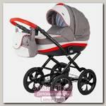 Детская коляска BeBe-Mobile Ines R 3 в 1, ткань+эко-кожа