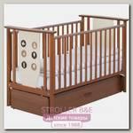 Детская кроватка-маятник Papaloni Aura