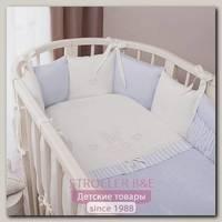 Комплект постели в кроватку Perina Неженка Oval, 6 предметов