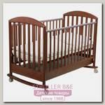 Детская кроватка Papaloni Джованни 120 на 60 см качалка