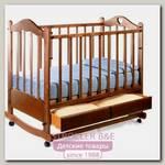 Детская кроватка Ведрусс Лана-2 сердечко (качалка)