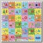 Коврик-пазл Росмэн Peppa Pig Учим Азбуку с Пеппой, 36 сегментов, 90 х 90 х 1 см