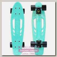 Скейтборд RT Y-Scoo Skateboard Fishbone 22' с ручкой и сумкой, 56,6х15