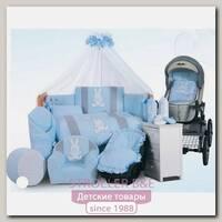 Комплект в кроватку Tuttolina Rabbit, 6 предметов