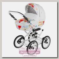 Детская коляска Adamex Katrina Ecco 2 в 1, 100% эко-кожа