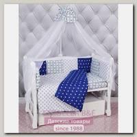 Комплект Premium в кроватку AmaroBaby Бриз, 18 предметов (6+12 бортиков), бязь