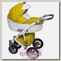 Детская коляска Caretto Amadeo F 3 в 1, ткань+эко-кожа