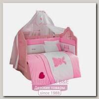 Комплект постельного белья Kidboo Little Rabbit 3 предмета