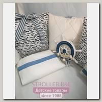 Комплект постели для прямоугольной кроватки Marele Хельсинки 460224-пр, 18 предметов