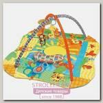Развивающий коврик для новорожденного Funkids 3 Ways To Play с бортиками