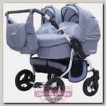 Детская коляска для двойни BartPlast Fenix Duo Prime 2 в 1