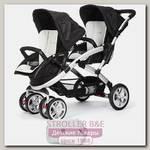 Детская прогулочная коляска для двойни и погодок Casualplay Stwinner