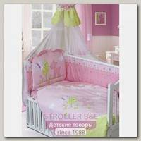 Комплект в кроватку Золотой Гусь Little Friend 7 предметов 65х125 см