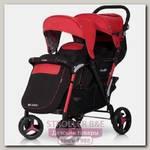 Детская прогулочная коляска для близнецов и погодок easyGo Fusion Duo