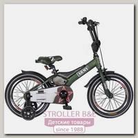 Двухколесный велосипед Velolider Rush Army 16'