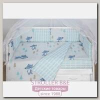 Комплект белья в кроватку WB AmaroBaby Baby Boom В Лесу, 3 предмета