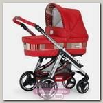 Детская коляска Bebecar IP-OP 2 в 1, шасси хром черный CRP