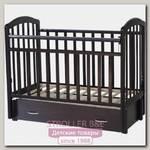 Детская кроватка Антел Алита 6 продольный маятник+ящик