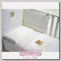 Комплект постели в кроватку Baby Expert Trudino by Trudi, 4 предмета