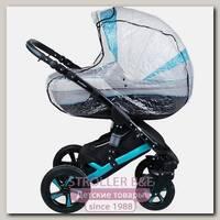 Дождевик ПВХ для коляски-люльки с окошком и клапаном