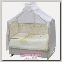 Комплект постели в кроватку Топотушки Созвездие, 7 предметов