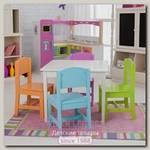 Детский столик с 3 стульчиками Leroys VR4