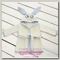 Детский халат Twinklbaby Fun Dry Зайки в подарочной упаковке, размеры на выбор