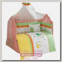 Комплект постельного белья Kidboo Baby Dinos 7 предметов