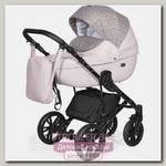 Детская коляска Indigo Mio 2 в 1, эко-кожа