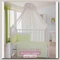 Комплект постели в кроватку Fairy На лугу, 7 предметов