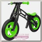Велобалансир + беговел Hobby-Bike RT Fly А Черная Оса Plastic А-шины елочка