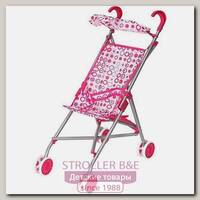 Металлическая коляска-трость для куклы RT с козырьком