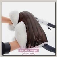 Муфта для рук Esspero Soft Fur Lux Натуральная шерсть