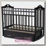 Детская кроватка Антел Каролина 4 поперечный маятник+ящик