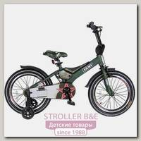 Двухколесный велосипед Velolider Rush Army 18'