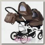 Детская коляска-люлька для двойни Esspero Duetto, шасси White