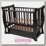 Детская кроватка Счастливый Малыш Венеция, универсальный маятник