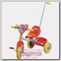 Детский трехколесный велосипед 1Toy 1Той Ну, Погоди с ручкой Т54032