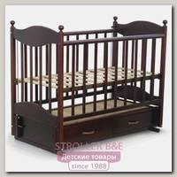 Детская кроватка Ведрусс Эля, продольный маятник