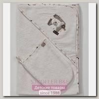 Детское полотенце-уголок + варежка Funnababy My Bear Фаннабэби Май Бир 90 х 90 см