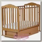 Детская кроватка СКВ 12200 Берёзка поперечный маятник+ящик