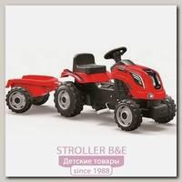 Трактор педальный Smoby XL Farmer 710111 с прицепом